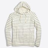 J.Crew Factory Striped hoodie sweatshirt