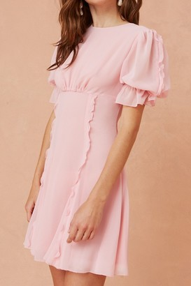 Keepsake BELOVED MINI DRESS blush