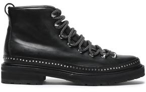 Rag & Bone Compass Ii Studded Leather Ankle Boots