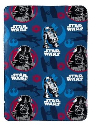 "Star Wars Classic Silk Touch Travel Blanket, 40"" x 50"""