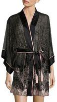 Josie Natori Haven Embellished Robe
