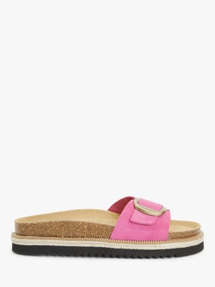 AND/OR Lianna Chunky Footbed Buckle Slider Sandals, Pink