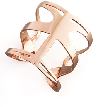 Simone I. Smith Infinite Love Cuff, Rose Gold