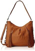 MG Collection Cecilia Tassel Hobo Bag