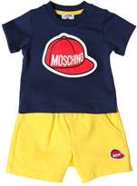 Moschino Printed Cotton Jersey T-Shirt & Shorts