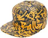 Bally graffiti-print cap