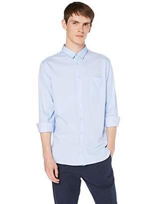 BOSS Men's Magneton_1 Casual Shirt, (Open Blue 460), XX-Large