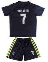 Soccer Authority 2015/2016 REAL MADRID RONALDO KIDS AWAY SOCCER JERSEY & SHORTS YOUTH SIZES