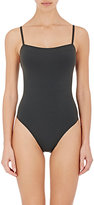 Eres Women's Aquarelle One-Piece Swimsuit-DARK GREY
