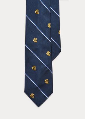 Ralph Lauren Row-Club Silk Narrow Tie