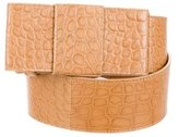 Michael Kors Embossed Waist Belt