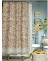 Jessica Simpson Marina Floral-Print Shower Curtain