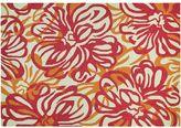 Couristan Covington Hibiscus Floral Indoor Outdoor Rug