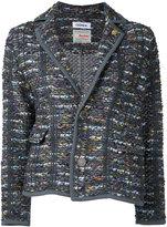 Coohem tweed blazer - women - Cotton/Hemp/Acrylic/Wool - 38