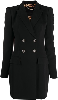 Philipp Plein Double-Breasted Suit Jacket Dress