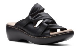 Clarks Collection Women's Delana Jazz Flat Sandals Women's Shoes