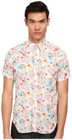 Mark McNairy New Amsterdam Short Sleeve Floral Dot Button Down