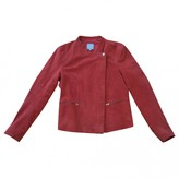 Pablo Red Leather Jacket for Women