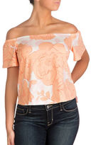 Guess Off-the-Shoulder Amore Top