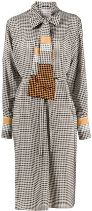 Joseph Dorianne silk plaid dress