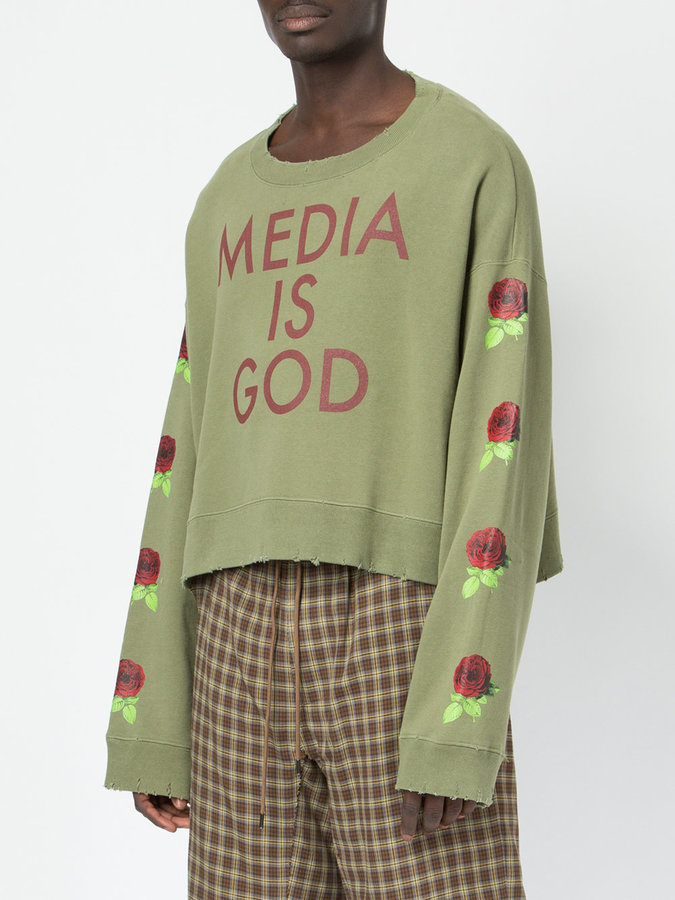 Undercover Media is God sweater