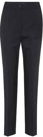Dolce & Gabbana High-waisted wool trousers