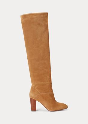 Ralph Lauren Brie Suede Boot