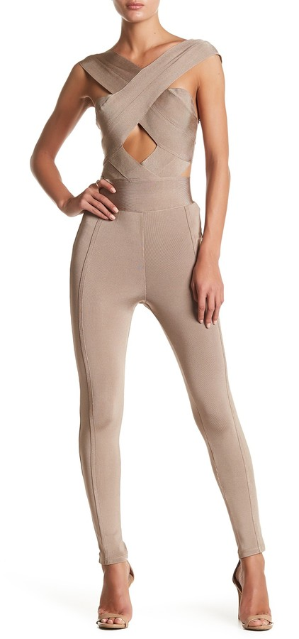 Wow Couture Strap Jumpsuit