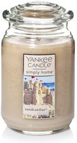 Yankee Candle simply home Sandcastles Large Candle Jar
