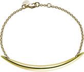 Shaun Leane Quill Gold plate chain bracelet