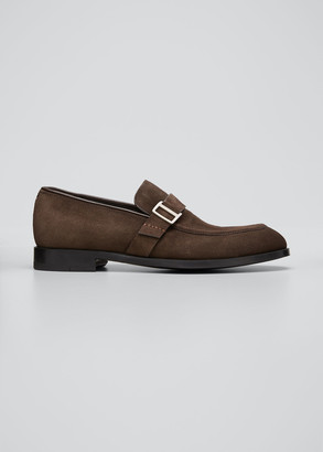 Ermenegildo Zegna Men's Siena Flex Suede Loafers
