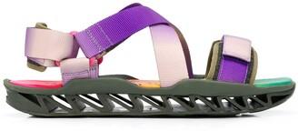 Camper x Bernhard Willhelm together Himalayan sandals