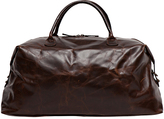"Moore & Giles Fine Leather Weekender Bag ""Benedict"""