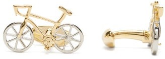 Paul Smith Bicycle Cufflinks - Mens - Silver
