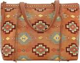 American West Adobe Allure Zip-Top Large Tote (Women's)