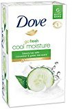 Dove Go Fresh Beauty Bar Soap, Cool Moisture, 6 Count