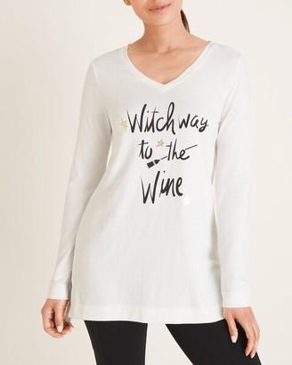 Zenergy Witch Way to the Wine Tee