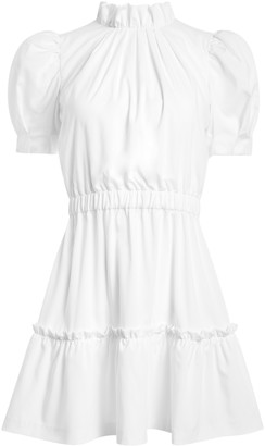 Alice + Olivia Vida Puff Sleeve Mini Dress