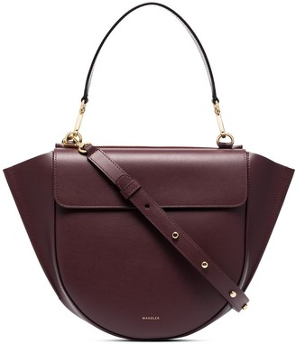 Wandler Hortensia Medium Leather Cross-Body Bag