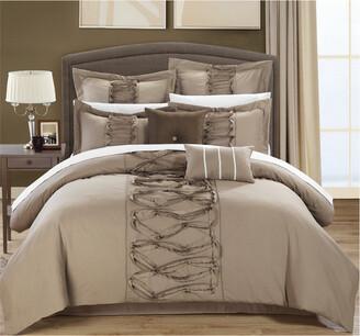 Chic Home Rossana 8Pc Ruffled Comforter Set