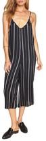 Amuse Society Women's Colton Stripe Crop Jumpsuit