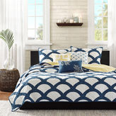 Montego Madison Park 6-pc. Quilted Coverlet Set