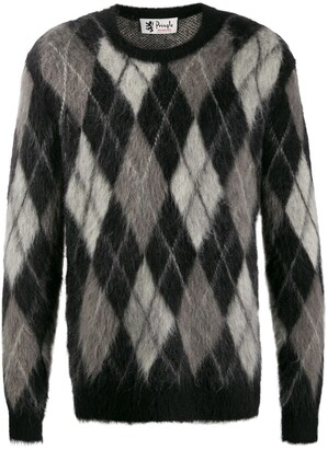 Pringle Reissued Argyle knit jumper