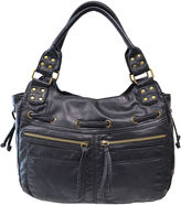 JCPenney Bueno Of California Pearlized Washed Double Shoulder Bag