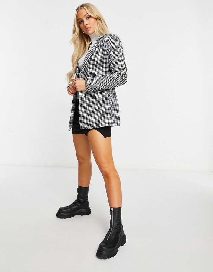 Thumbnail for your product : Parisian oversized blazer in check