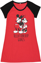 Red Mickey & Minnie 'Relationship Goals' Nightgown - Women