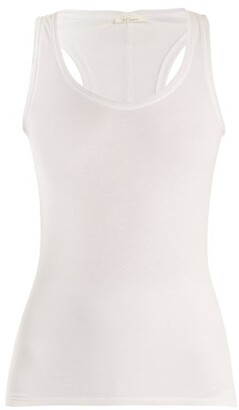 Skin Cotton-jersey Tank Top - White