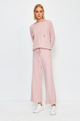 Karen Millen Knit Soft YarnWide Leg Jogger