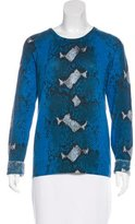 Equipment Cashmere Patterned Sweater