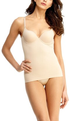 Express Slimme By Memoi Underwire Bra Shaping Cami